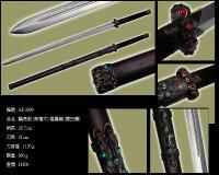 螭虎劍(紫檀木)摺疊鋼AP-2099