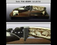 Basko 野豬立體摟雕AU-1077-2(缺貨)